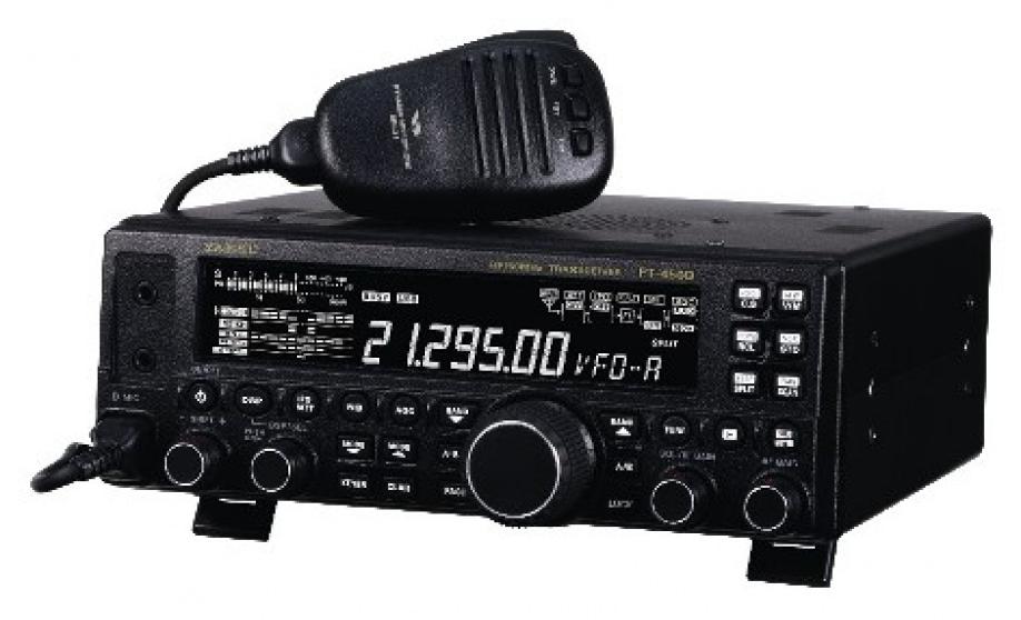 Базовый КВ трансивер YAESU FT-450D(0,1-30 МГц, 100Вт, со встроенным антенным тюнером ATU-450)